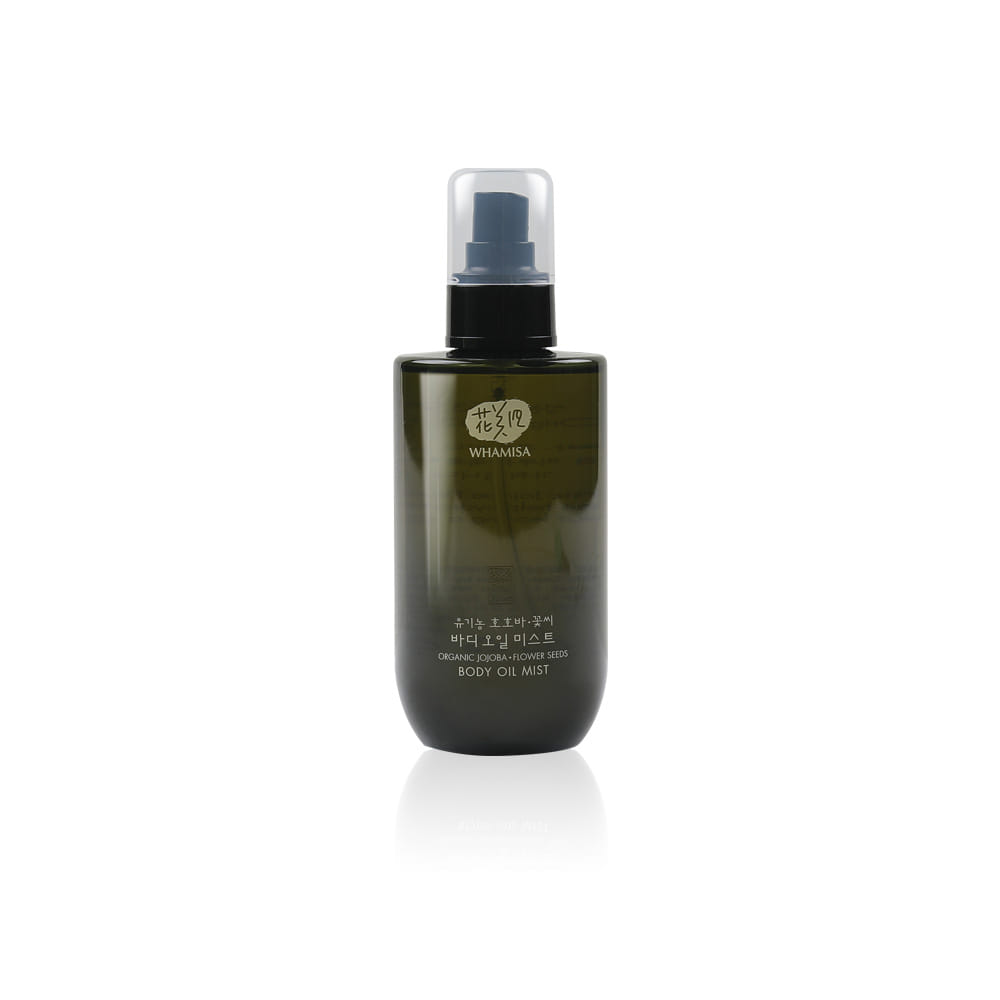 [WHAMISA] Organic Jojoba/Flower Seeds Body Oil Mist